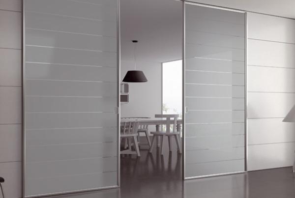 Casa immobiliare accessori porte interne vetro scorrevoli - Porte interne in vetro scorrevoli ...